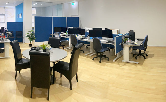 Image of Work Space layout